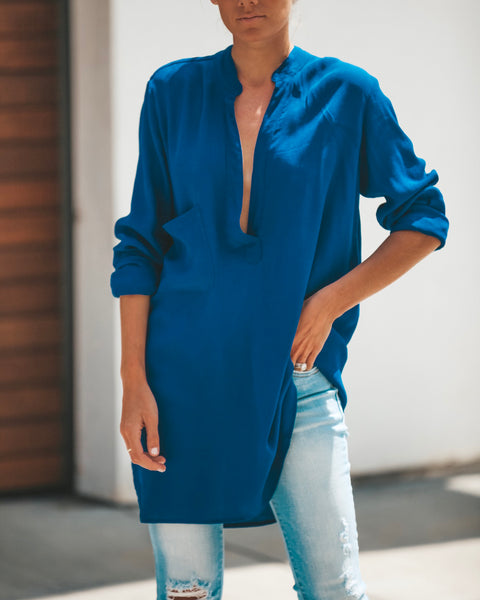 A La Mode Tunic - Royal Blue