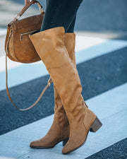 Kenny Faux Suede Boot view 6