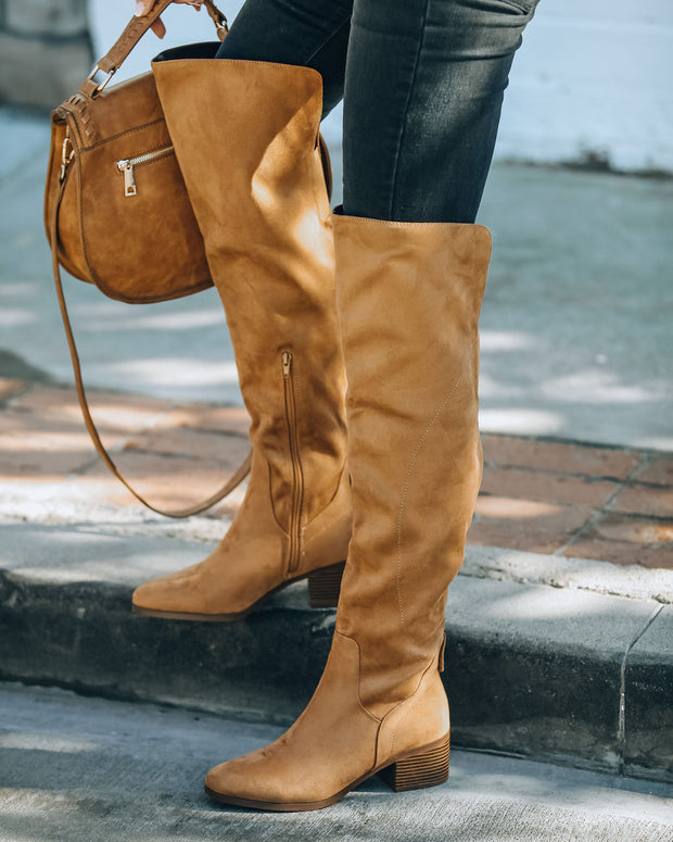 Kenny Faux Suede Boot view 9