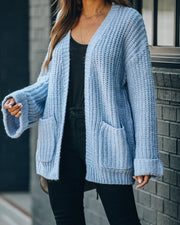 Wind Chill Pocketed Knit Cardigan - FINAL SALE