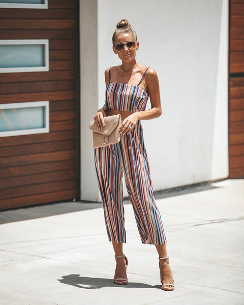 Radiant Striped Pants - FINAL SALE