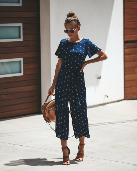 Home Free Jumpsuit - Navy