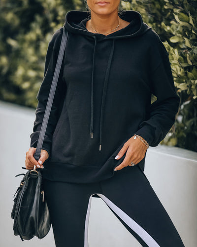North Cotton Lightweight Knit Hoodie