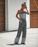 Grandiose Strapless Pocketed Jumpsuit - FINAL SALE