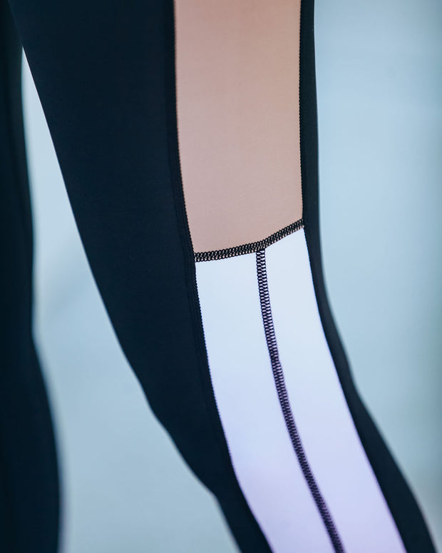 Step By Step Colorblock Legging