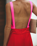 Firecracker Colorblock Jumpsuit
