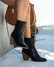 Mankind Faux Leather Heeled Bootie - FINAL SALE view 11