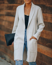 Vancouver Pocketed Coat - Ivory