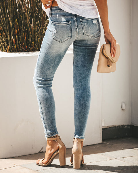 Carly Distressed Skinny - FINAL SALE