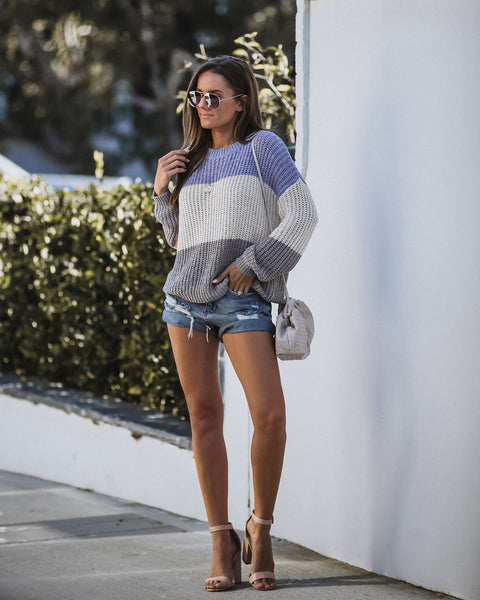 Mattie Colorblock Sweater - FINAL SALE