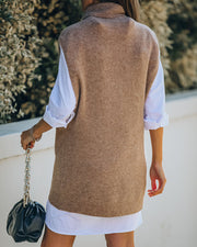 Kaven Sleeveless Knit Turtleneck Sweater - FINAL SALE view 2