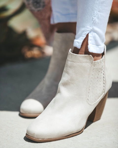 Vista Faux Suede Bootie - FINAL SALE