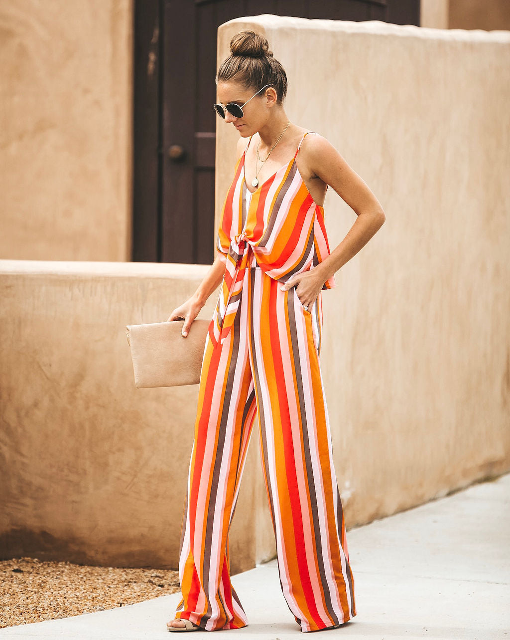 04094b96cee4 Striped Sorbet Pocketed Jumpsuit – VICI