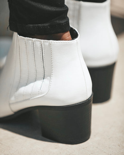 Nova Faux Leather Bootie