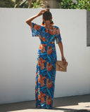 Floral Infusion Maxi Dress - FINAL SALE