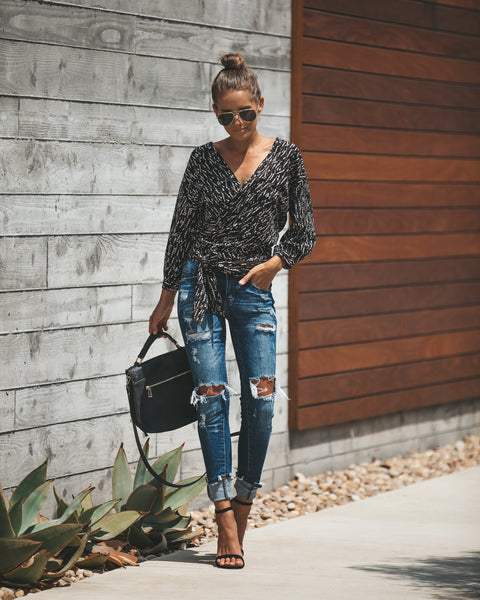 Fawn Wrap Top