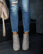 Accompany Heeled Bootie - Taupe