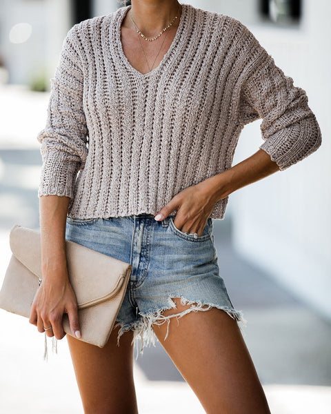 Walnut Canyon Knit Sweater - FINAL SALE