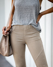 Piper Jegging - Khaki - FINAL SALE