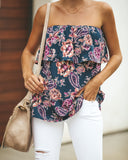 Lilac Rose Olae Strapless Top - FINAL SALE