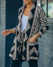 Rubicon Pocketed Tie Knit Cardigan - FINAL SALE view 7