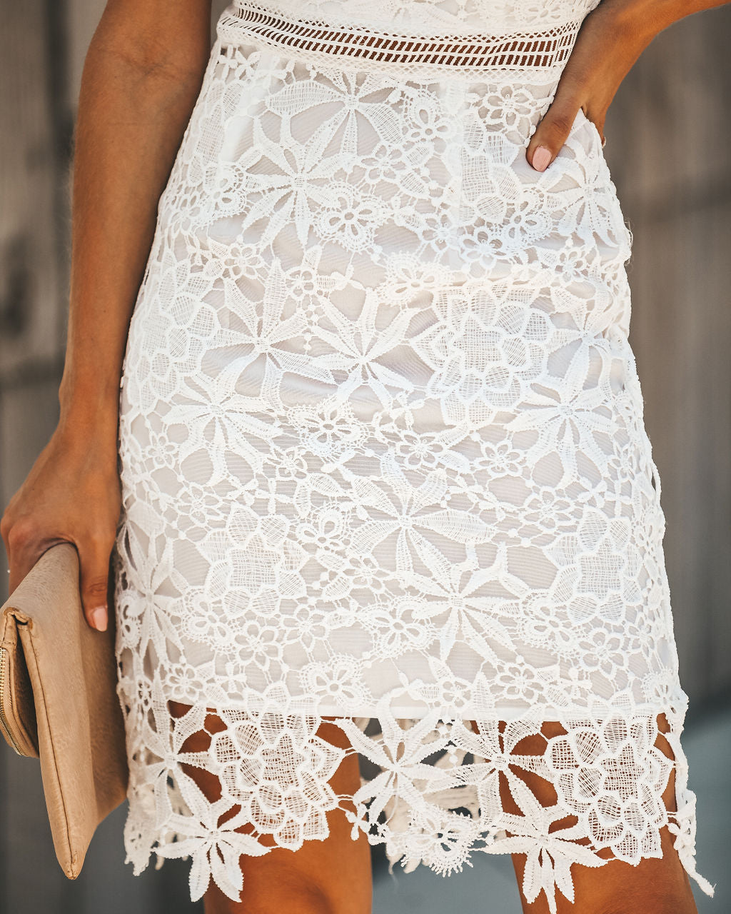 0415a0a49dd Lover s Game Crochet Lace Dress - White – VICI