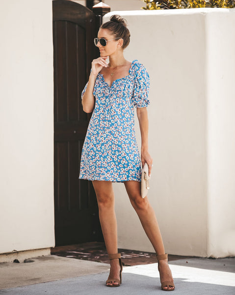 Lovely Day Floral Dress - FINAL SALE