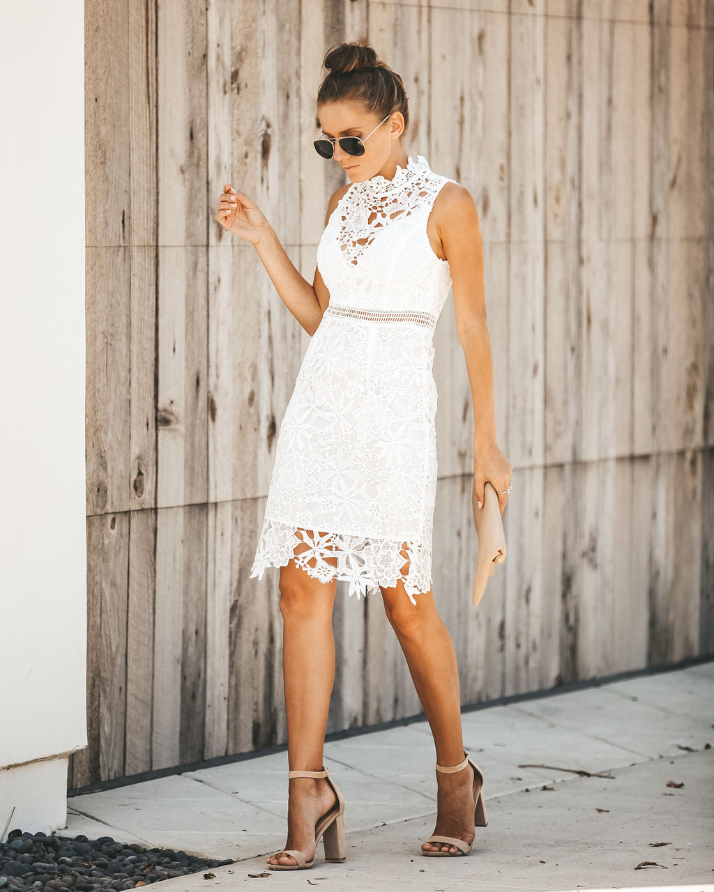 7fb30aeaf4d Detail Product. FILTER ← Home - BRIDAL - Lover s Game Crochet Lace Dress -  White