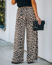 Wallis High Rise Leopard Pants