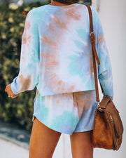 San Diego Tie Dye Knit Top - FINAL SALE