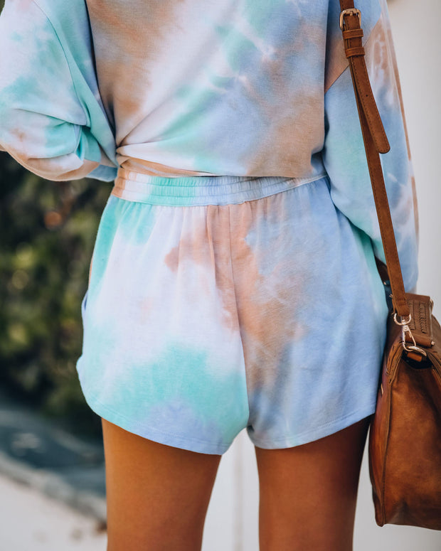 San Diego Pocketed Tie Dye Knit Shorts - FINAL SALE