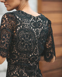 Forbidden Love Lace Bodycon Dress - Black