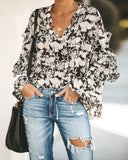 First Bloom Floral Blouse