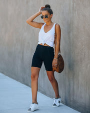 Reboot Cotton Biker Shorts