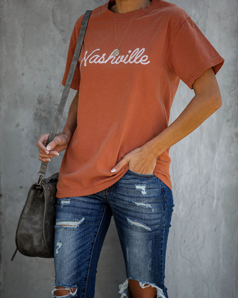 Welcome To Nashville Cotton Tee