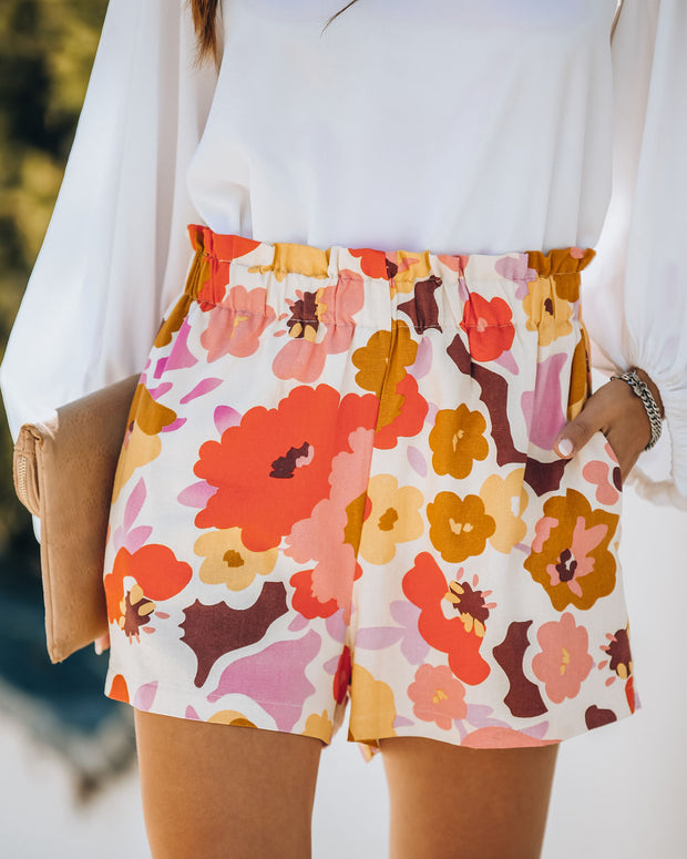 Honey Bunch Pocketed Linen Blend Shorts