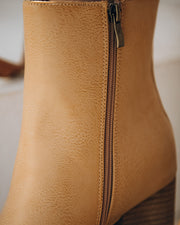 Culture Faux Leather Heeled Bootie view 4