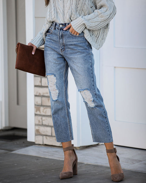 Impression High Rise Relaxed Denim