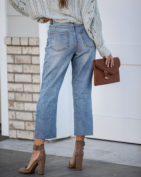 Impression High Rise Relaxed Denim - FINAL SALE