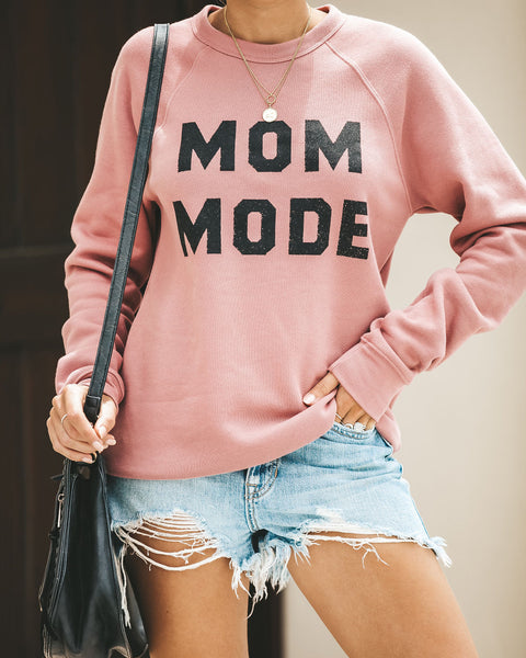Mom Mode Cotton Blend Pullover