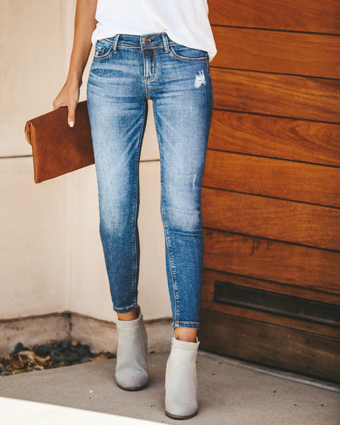 Delevingne Distressed Skinny - FINAL SALE