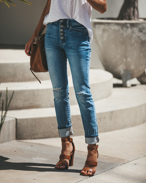 Los Angeles Distressed Skinnies