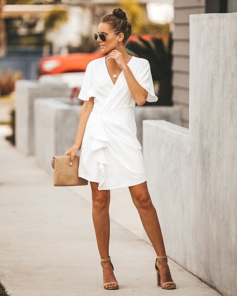 Committed Ruffle Dress