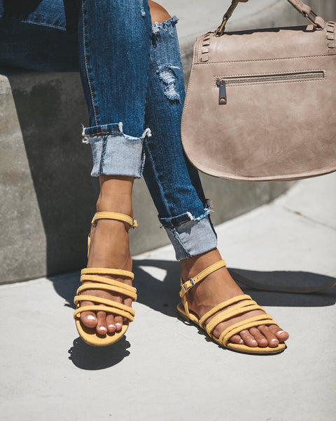Tutti Frutti Sandals - Yellow