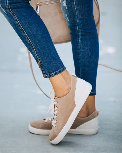 Seth Faux Suede Snake Sneaker - FLASH SALE