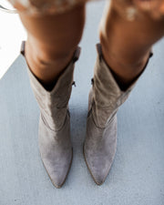 Lasso Western Boot - Taupe