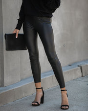 Material Girl Faux Leather Leggings