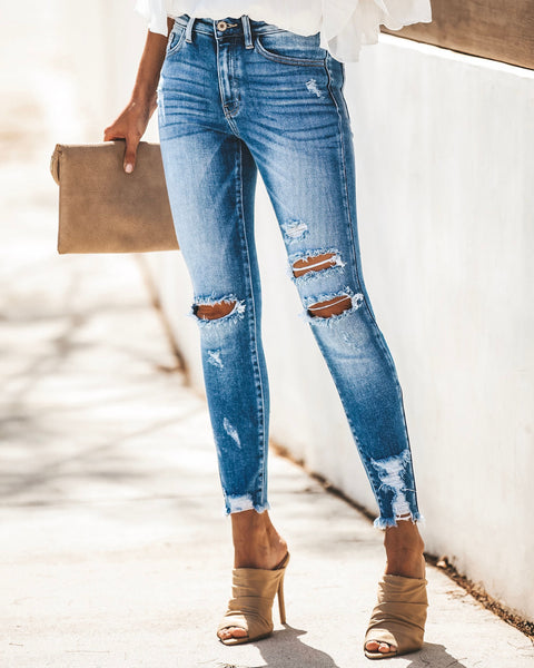 American Woman Distressed Skinny
