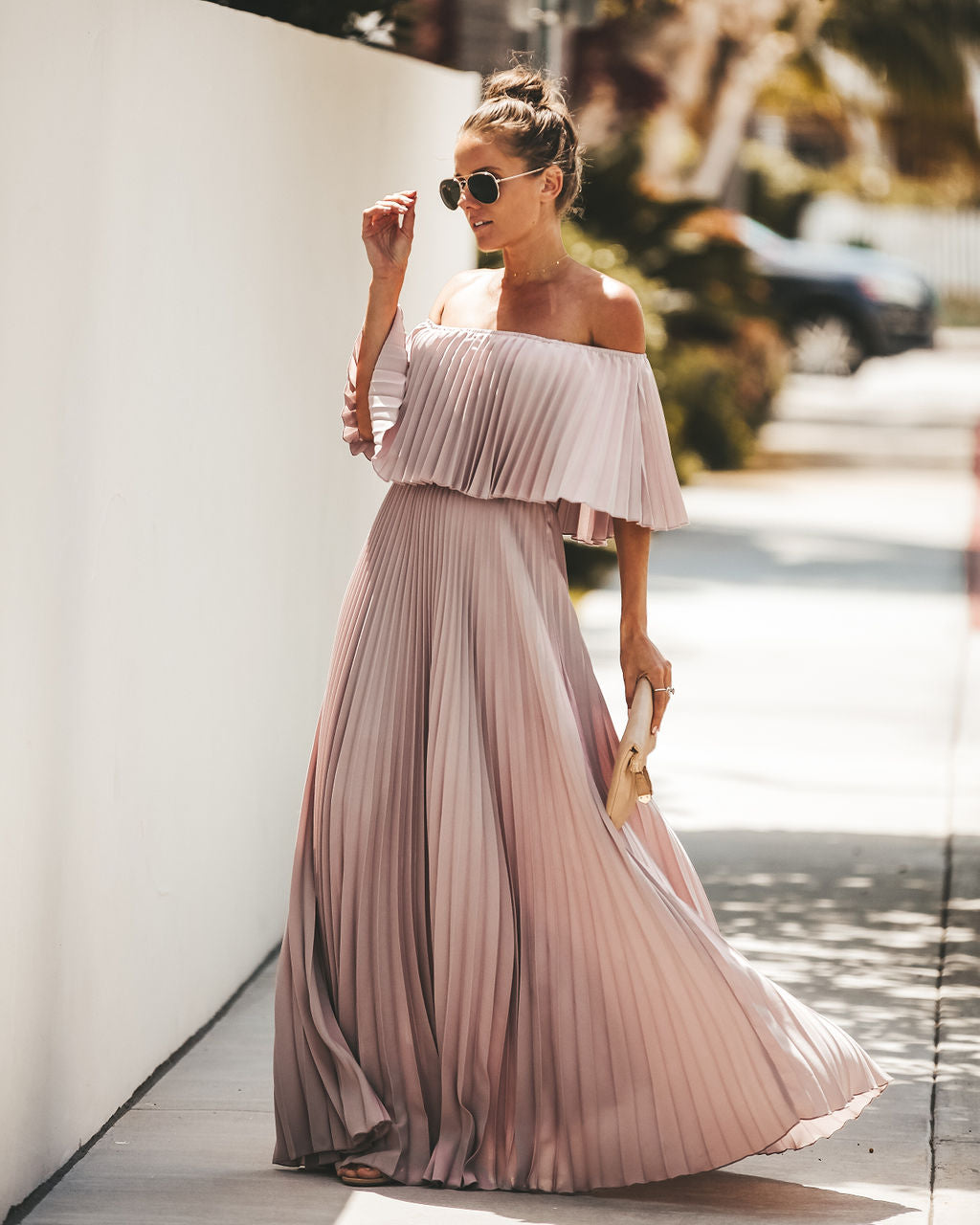 26b126fc246 Detail Product. FILTER ← Home - DRESSES - Eternal Love Pleated Maxi ...