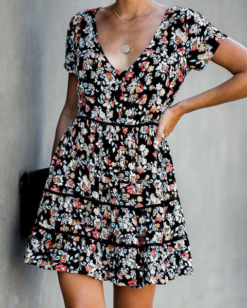 Hysterical Floral Babydoll Dress - FINAL SALE